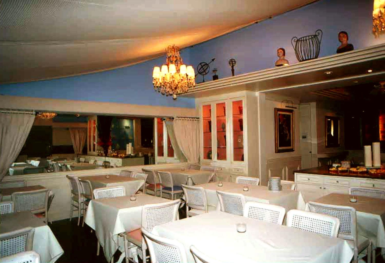 Vista do Salão do Restaurante